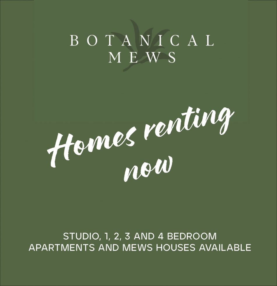 Botanical Mews Available Homepage